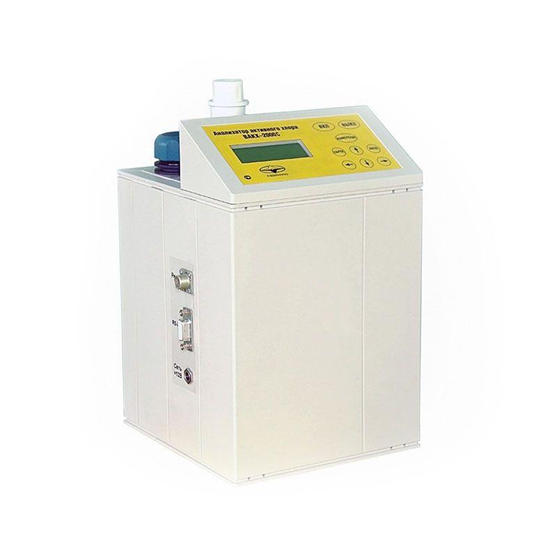 ВАКХ-2000С стационарный газоанализатор остаточного хлора в воде