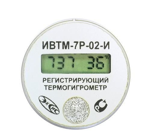 Фото 2 - ИВТМ-7 Р-02 переносной термогигрометр-регистратор.