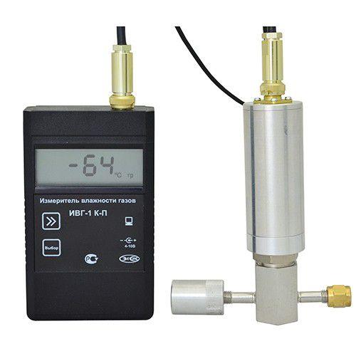 ИВГ-1 К-П переносной одноканальный измеритель-регулятор микровлажности газов (гигрометр)