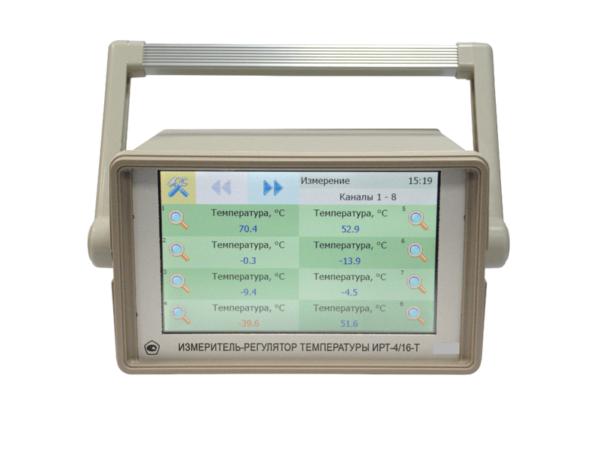Фото 2 - ИРТ-4/16-Т стационарный 16-канальный измеритель-регулятор температуры.