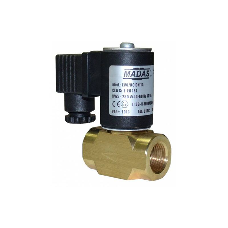 EVO/NC Madas клапан электромагнитный