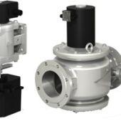 Фото 171 - ВН с электромеханическим регулятором расхода (алюминиевый) клапан газовый электромагнитный нормально-закрытый с автоматическим взводом двухпозиционный.