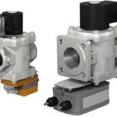 Фото 170 - ВН с электромеханическим регулятором расхода (стальной) клапан газовый электромагнитный нормально-закрытый с автоматическим взводом двухпозиционный.