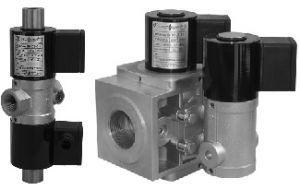 Фото 2 - ВН трехпозиционный (алюминиевый) клапан газовый электромагнитный нормально-закрытый с автоматическим взводом.