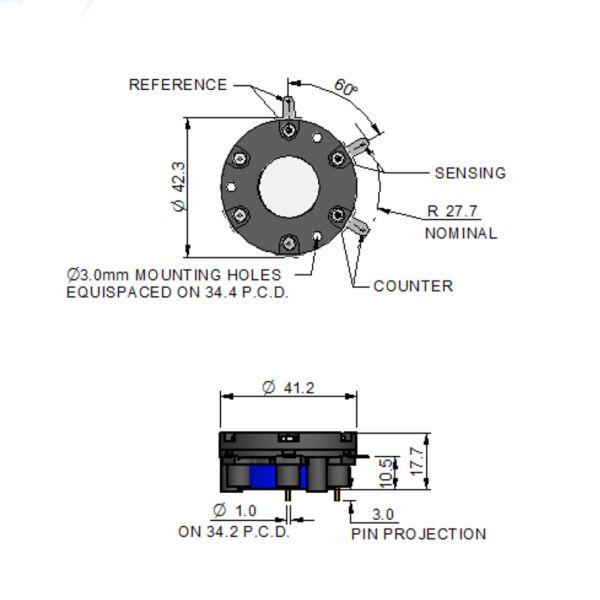 3H/LM CiTiceL сенсор на сероводород (H2S) электрохимический