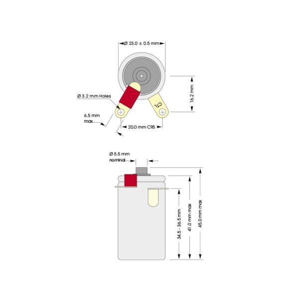 C/N CiTiceL сенсор на кислород (O2) электрохимический