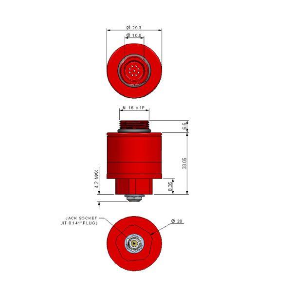AO3 CiTiceL сенсор на кислород (O2) электрохимический