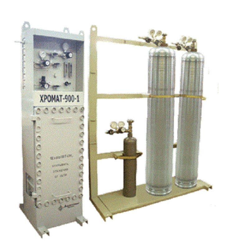 ХРОМАТ-900 автоматический промышленный газовый хроматограф