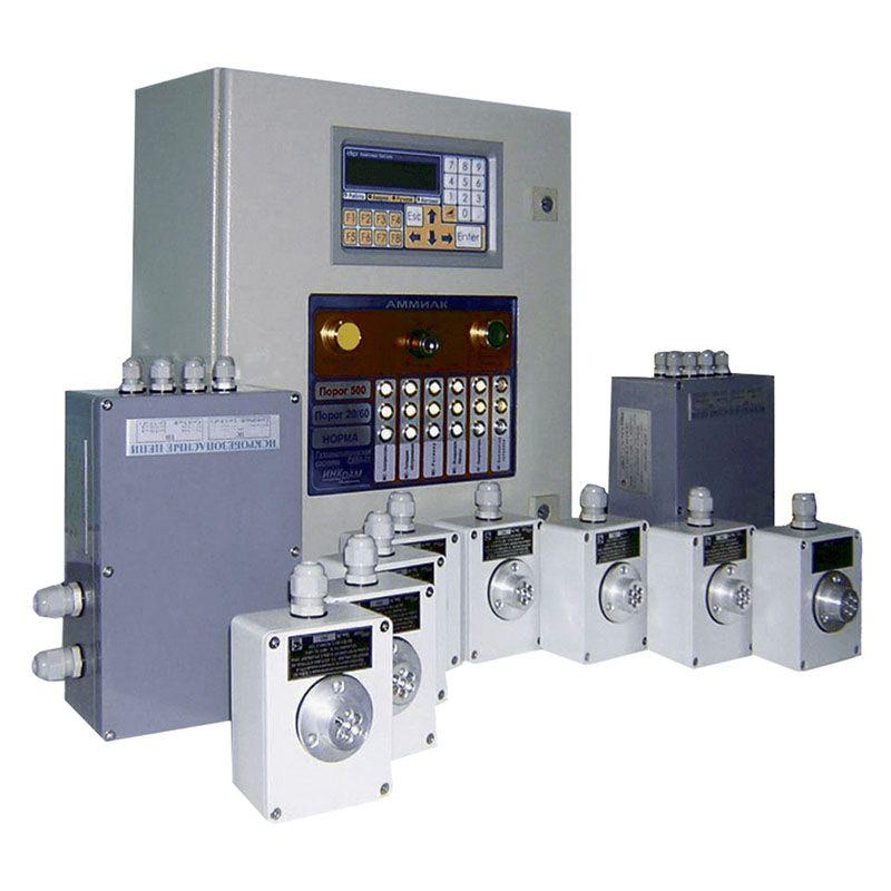 Система контроля загазованности СКВА-01