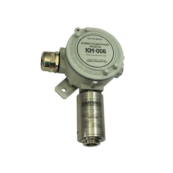 Газосигнализатор ИГС-98 модификация Д исполнение 014 в комплекте с коммутационным модулем КМ-006