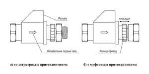 Клапан КЗЭУГ-Б для САКЗ-МК-1Аi
